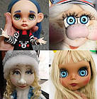Цветные чипы для глаз куклы Блайс, Айси, набор 6 пар, фото 3