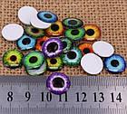 Цветные чипы для глаз куклы Блайс, Айси, набор 6 пар, фото 4