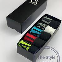 Мужские трусы Calvin Klein Intense (Набор белья Кельвин 5 штук)