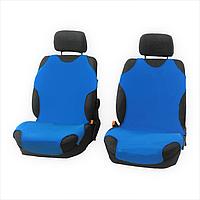Чехлы-майки Elegant на передние сидения голубые EL 105 247  новый дизайн