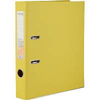 Папка-регистратор Axent Delta , двусторонняя, A4, 50 мм, жёлтая