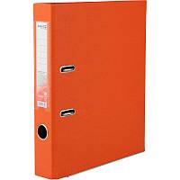 Папка-регистратор Axent Delta , двусторонняя, A4, 50 мм, оранжевая
