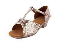 Туфли для бальных танцев серебро Rivage Line 600105