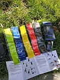 Фитнес-резинки Mini Loop Bands Набор из 5 резинок + чехол в подарок, фото 2