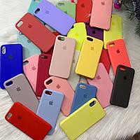 Silicone Case силиконовый чехол на айфон iPhone 5/5s/SE/6/6s/7/8/6+/7+/8+ Plus (силіконовий чохол для айфона )