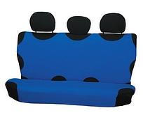 Чехол-майка Elegant на заднее сидение темно-синяя EL 105 241  новый дизайн