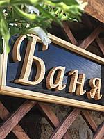 Деревянные декоративные надписи, логотипы