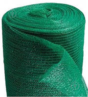 Сетка затеняющая защитная рулон 3х50м плотность 160 г/кв.м темно-зеленая HDPE.dark green