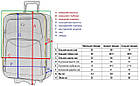Набір дорожніх валіз і кейс 4 в 1 Bonro Style комплект, фото 9