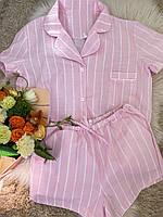 Пижама женская Фламинго розовая