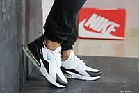 Текстильные мужские кроссовки Nike Air Max 270 белые / чоловічі кросівки Найк білі (Топ реплика ААА+)