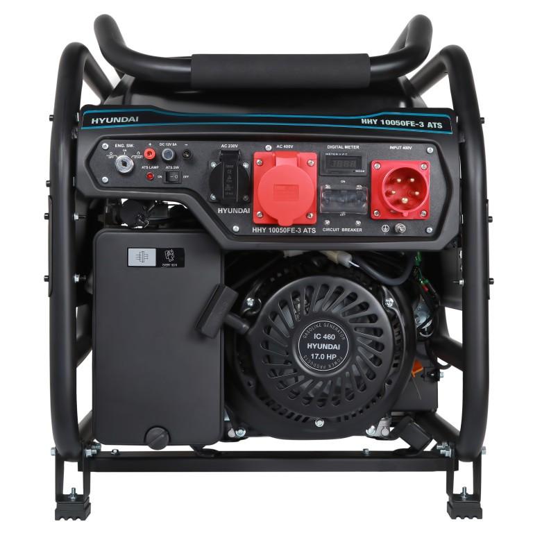 Бензиновый генератор Hyundai HHY 10050FE-3 ATS (8 кВт)