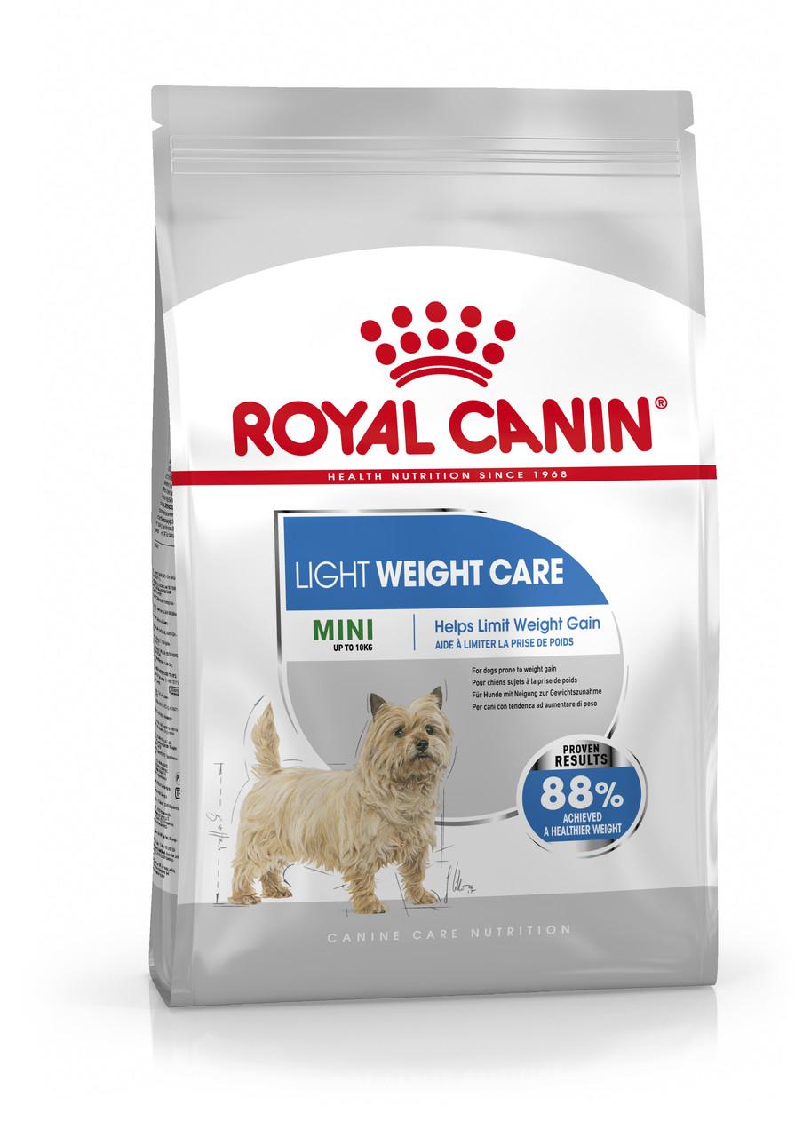 Royal Canin MINI LIGHT WEIGHT CARE 1 кг - корм для собак вагою до 10 кг, схильних до набору зайвої ваги