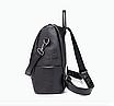 Рюкзак жіночий шкіряний Hefan Daish Gou сумка, фото 6