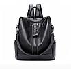 Рюкзак жіночий шкіряний Hefan Daish Gou сумка, фото 2