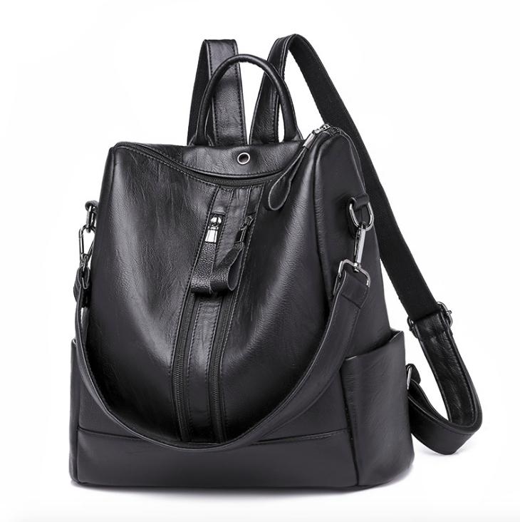 Рюкзак жіночий шкіряний Hefan Daish Gou сумка