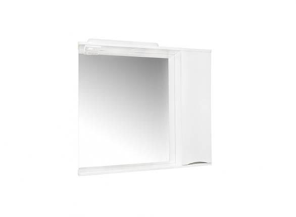 Зеркало для ванной Комо 80 Серое, фото 2
