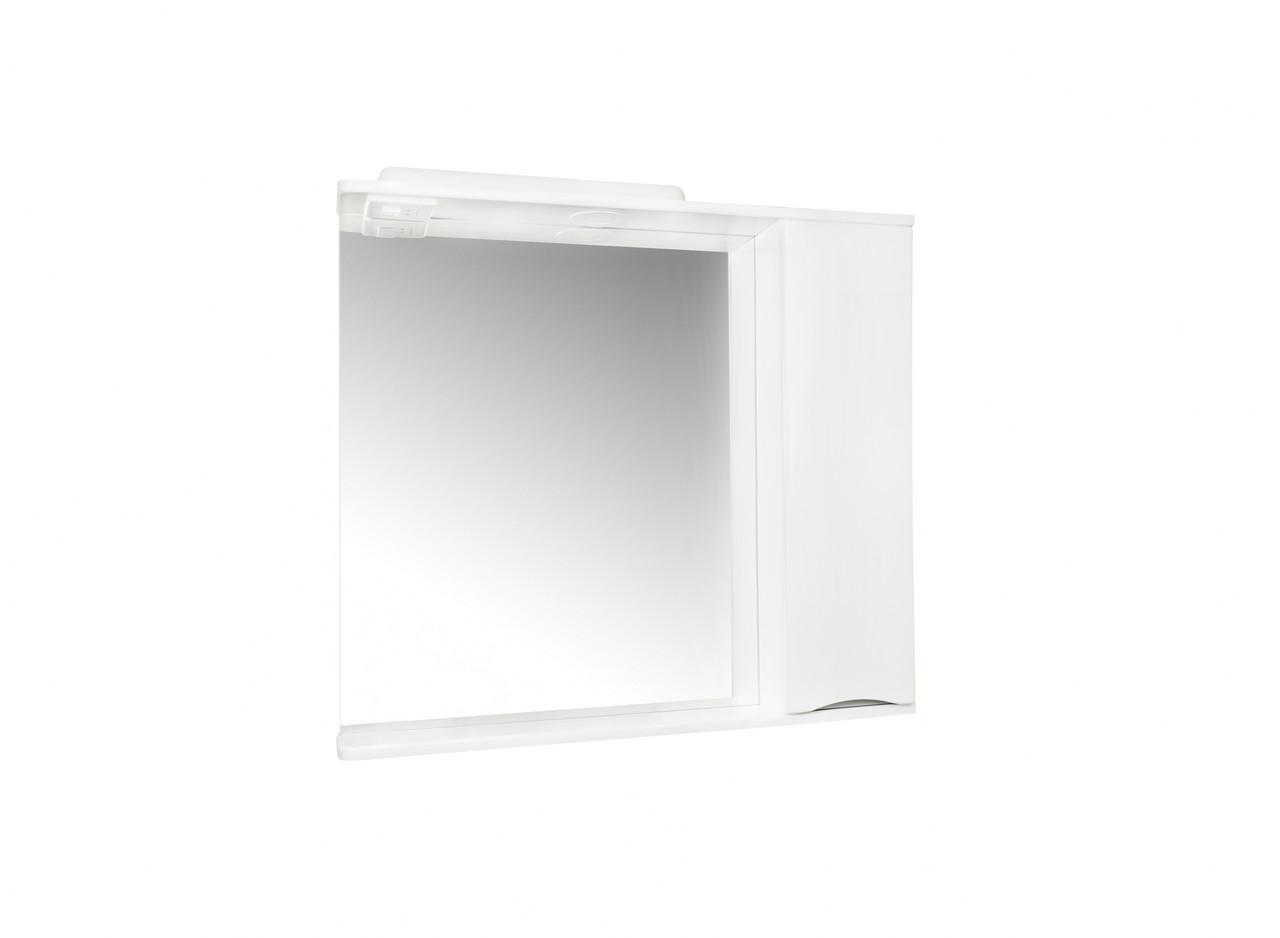 Зеркало для ванной Комо 80 Серое