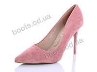 """Туфли женские  женские """"STILLI Group-Vintage"""" #L019-18. р-р 36-40. Цвет розовый. Оптом"""