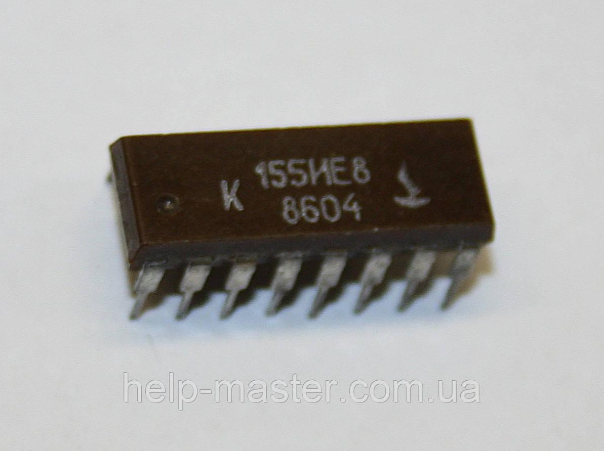 Микросхема К155ИЕ8 (DIP-16)