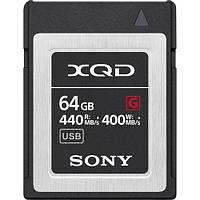 Карта памяти Sony 64GB G Series XQD Memory Card (SOQDG64FJ) (QDG64F/J)