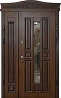 Двери входные уличные Термопласт 74 мм Модель 25 (стеклопакет) Vinorit