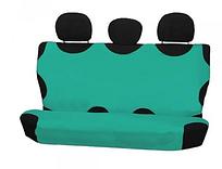 Чехол-майка Elegant на заднее сидение зеленая EL 105 238  новый дизайн