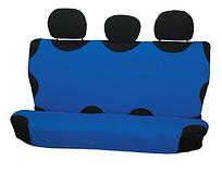 Чехол-майка Elegant на заднее сидение голубая EL 105 239  новый дизайн