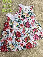 Платье для девочек оптом, S&D, 4-12 лет., арт.FF-33