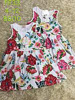 Платье для девочек оптом, S&D, 4-12 лет,  № FF33