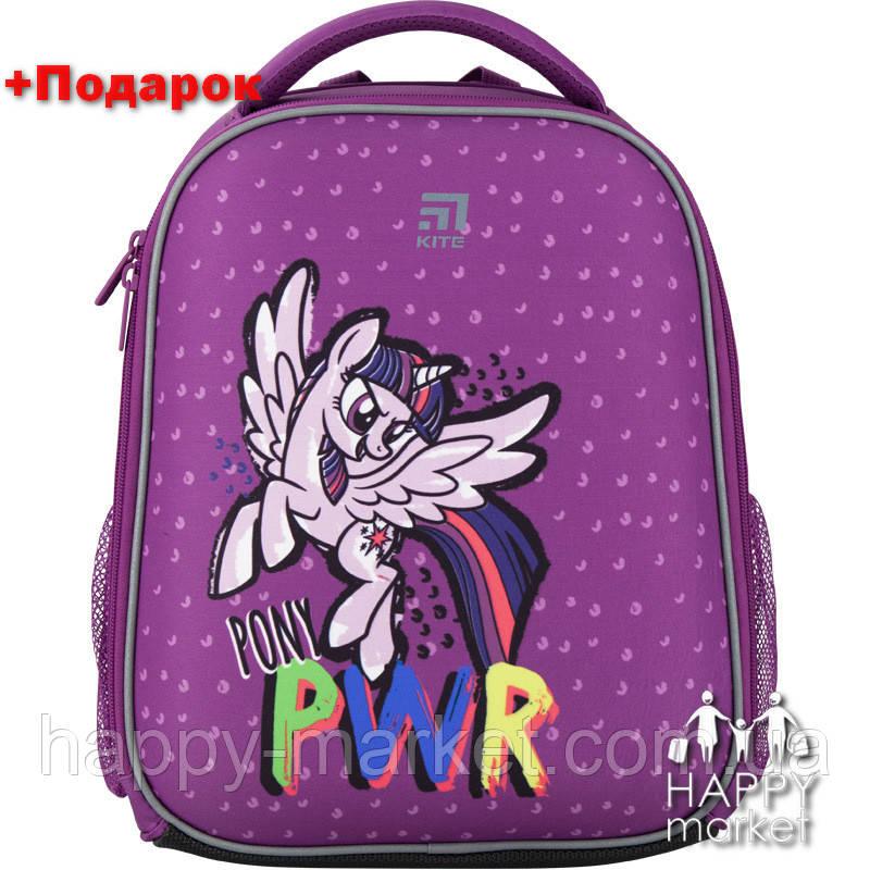 Рюкзак для девочки школьный каркасный Kite Education My Little Pony LP20-555S-3