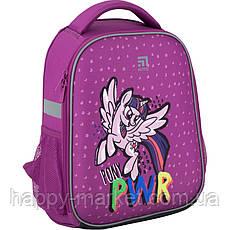 Рюкзак для девочки школьный каркасный Kite Education My Little Pony LP20-555S-3, фото 2