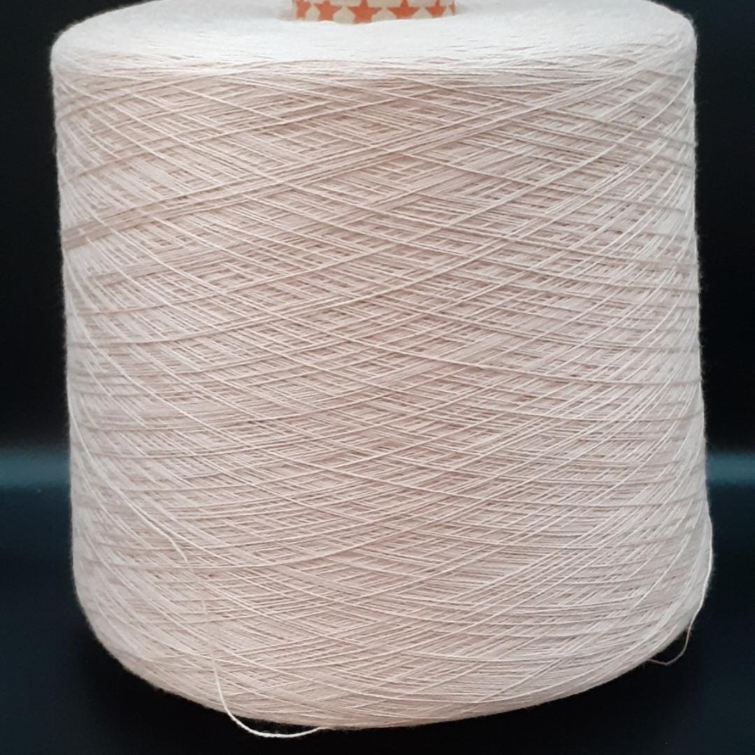 50% хлопок 50% акрил POWDER - бобинная пряжа для машинного и ручного вязания