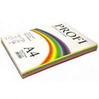 Набор цветной бумаги, насыщенный  А4 80г\м2 5цветов х 50листов Deep  Profi № 82А