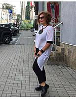 Брючный костюм из легкой ткани, Женский брючный костюм летний, Летний женский брючный костюм, Брючный костюм летний большого размера,, фото 4