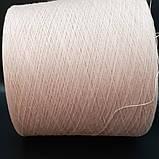 50% хлопок 50% акрил POWDER - бобинная пряжа для машинного и ручного вязания, фото 2