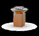 Гриль-мангал, барбекю HOLLA GRILL Original Rust  закрытая тумба, фото 2