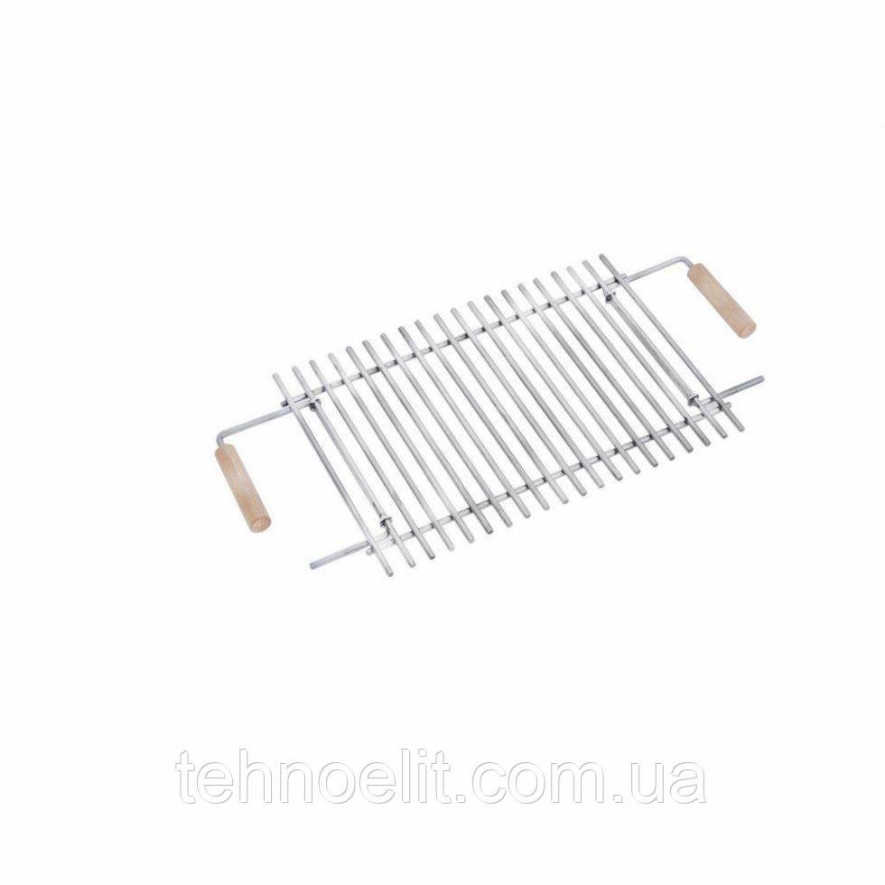 Решетка-гриль из нержавеющей стали для раскладных мангалов на 6 шампуров