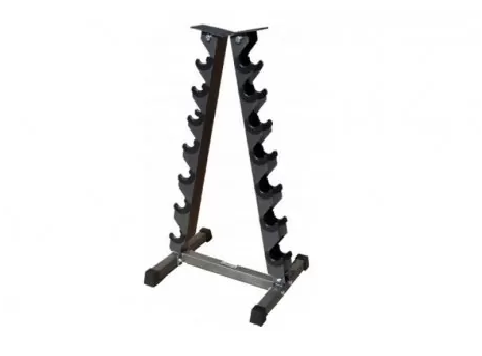 Подставка (горка) для гантелей (7 пар) Zelart SC-8031B (металл, р-р 50х60х115см)