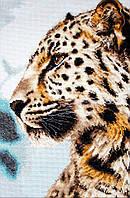 Набор для вышивания нитками LUCA-S Леопард (BU4006)