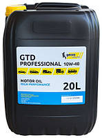 GECCO Lubricants GTD Professional 10W-40 (20л) Полусинтетическое моторное масло
