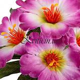 Искусственные цветы букет заливка атласная, 20см, фото 2