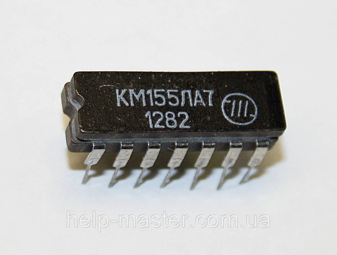 Мікросхема К155ЛА7 (DIP-14)