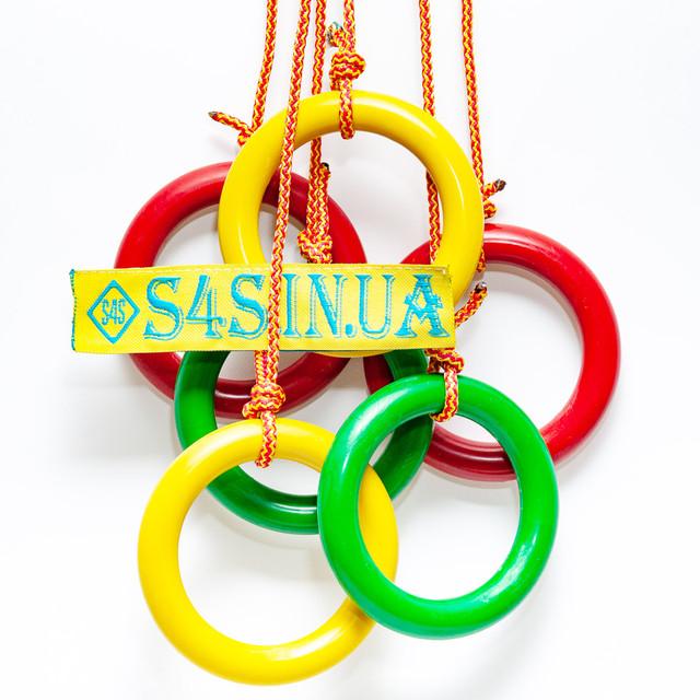 Кольца детские подвесные пластиковые s4s