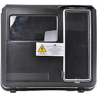Ящик под одно-трехфазный счётчик пластиковый 280х305х167 мм 9 мод. выпуклый черный DOT-3.1B NIK