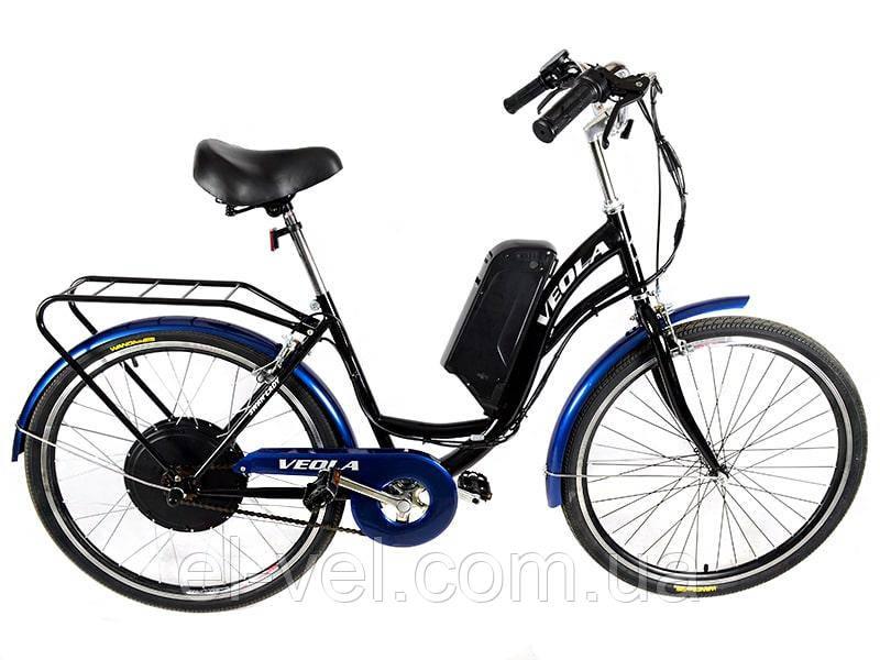 Електровелосипед VEOLA 26 XF40 48В 500Вт літієва батарея 10.4 Ач
