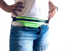 Сумка на пояс для бега занятий спортом light-green, ga1756