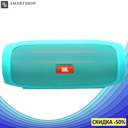 Портативная колонка JBL CHARGE 4 Зеленая - беспроводная Bluetooth колонка + Power Bank (Реплика), фото 2