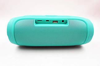 Портативная колонка JBL CHARGE 4 Зеленая - беспроводная Bluetooth колонка + Power Bank (Реплика), фото 3