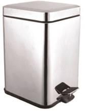 Ведро для мусора AQUAVITA KL-301S металл, квадрат 5 л